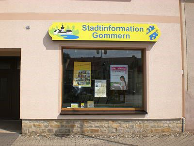 tourist information stadtinformation gommern